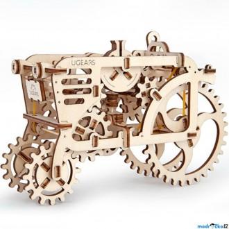 Puzzle a hlavolamy - 3D mechanický model - Traktor (Ugears)