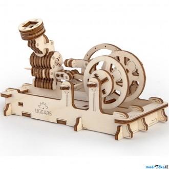 Puzzle a hlavolamy - 3D mechanický model - Motor (Ugears)