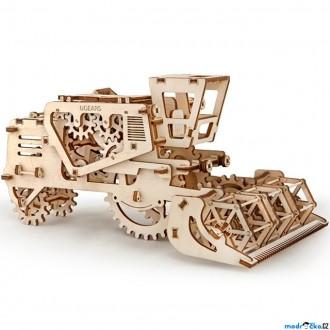 Puzzle a hlavolamy - 3D mechanický model - Kombajn (Ugears)