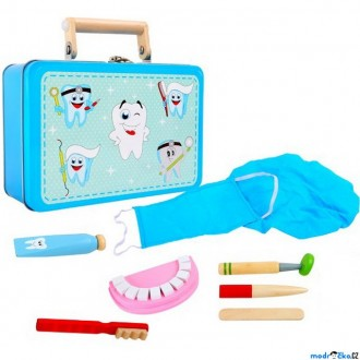 Dřevěné hračky - Doktor - Set v kufříku, Zubař (Legler)