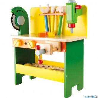 Dřevěné hračky - Malý kutil - Pracovní stůl, Christian (Legler)