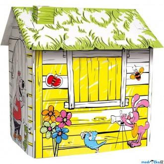 Nedřevěné hračky - Kartonový domek - Farma (Bino)
