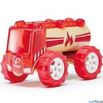 Dřevěné hračky - Auto - Autíčko mini Fire Truck červené (Hape)