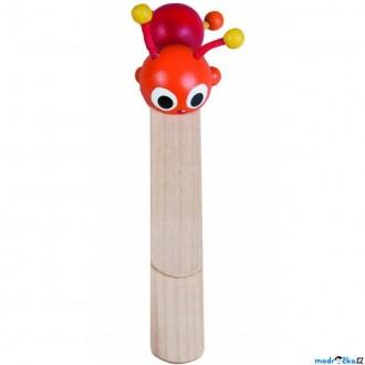 Dřevěné hračky - Knižní záložka - Brouček (Detoa)