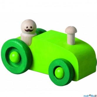 JIŽ SE NEPRODÁVÁ - Auto - Autíčko, zelený traktor (Detoa)