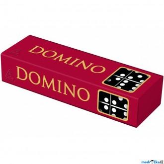 Dřevěné hračky - Domino - Klasické černé, 28ks (Detoa)