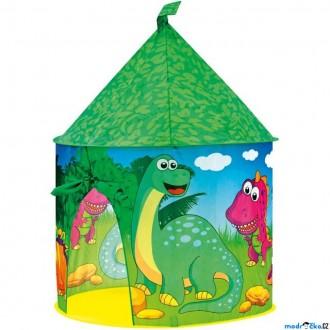 Ostatní hračky - Dětský domeček - Stan dinosauří hrad (Bino)