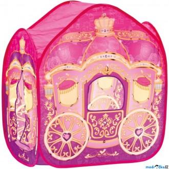 Ostatní hračky - Dětský domeček - Stan kočár pro princezny (Bino)