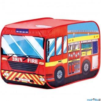 Ostatní hračky - Dětský domeček - Stan hasičské auto (Bino)