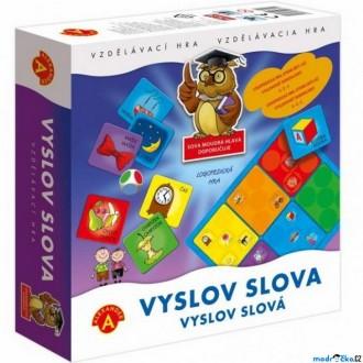 Ostatní hračky - Didaktická hra - Logopedická, Vyslov slova (Alexander)