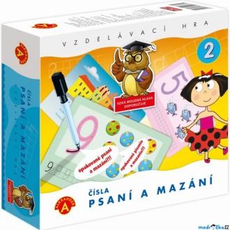 Ostatní hračky - Didaktická hra - Psaní a mazání, Čísla (Alexander)