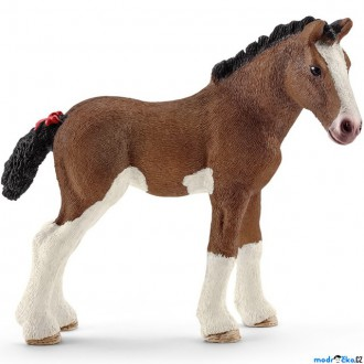 Ostatní hračky - Schleich - Kůň, Clydesdalské hříbě