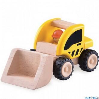 Dřevěné hračky - Auto - Miniworld, Nakladač dřevěný (Wonderworld)