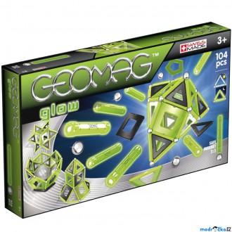 Stavebnice - Geomag - Kids Panels Glow, 104 ks (svítící)