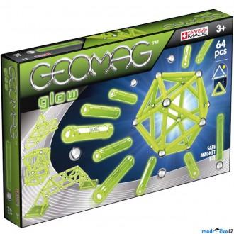 Stavebnice - Geomag - Glow, 64 ks (svítící)