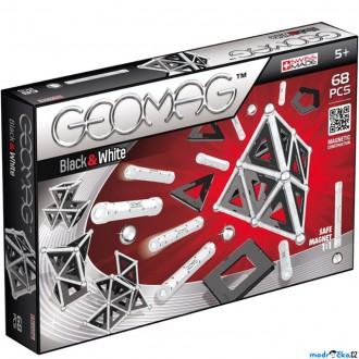 Stavebnice - Geomag - Kids Black & White, 68 ks