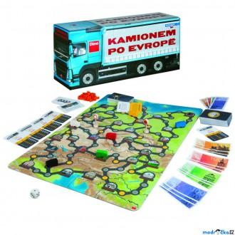 Nedřevěné hračky - Společenská hra - Kamionem po Evropě