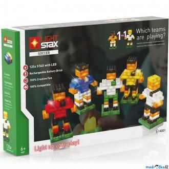 Stavebnice - Light Stax - Soccer, 125 svítících kostek