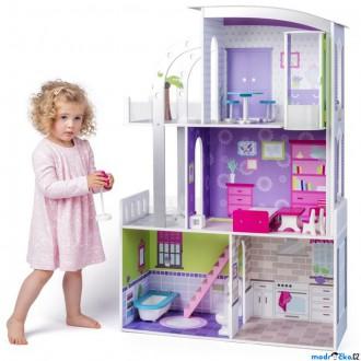 Dřevěné hračky - Domeček pro panenky - Velký plážový dům Provence
