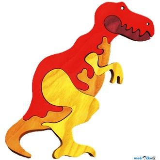 Puzzle a hlavolamy - Puzzle z masivu - Velké, T-Rex (Fauna)