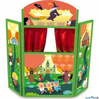 Dřevěné hračky - Divadlo - Dětské dřevěné divadlo Pohádky (Vilac)