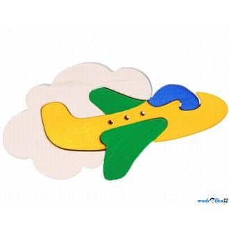 Puzzle a hlavolamy - Puzzle z masivu - Malé, Letadlo (Fauna)