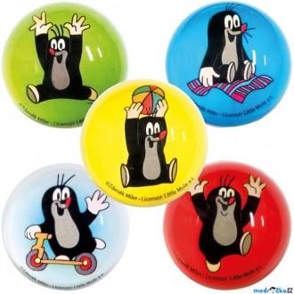 JIŽ SE NEPRODÁVÁ - Drobné hračky - Skákací míček Hopík, Krtek, 1ks (Bino)