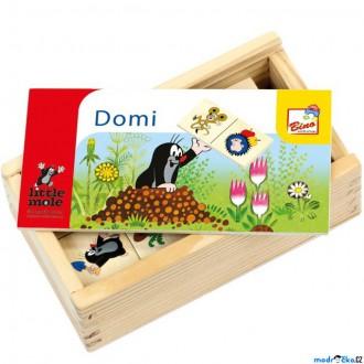 Dřevěné hračky - Domino - Krtek, 28ks (Bino)