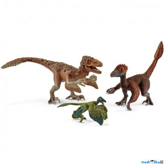 Ostatní hračky - Schleich - Dinosaurus set, Opeření dravci