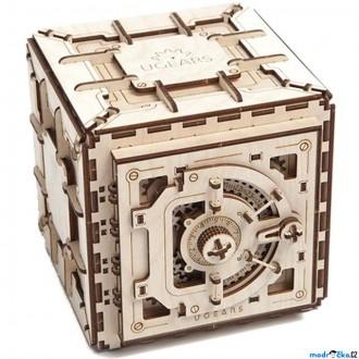 Puzzle a hlavolamy - 3D mechanický model - Trezor (Ugears)