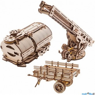 Puzzle a hlavolamy - 3D mechanický model - Truck UGM-11, 3x rozšíření (Ugears)