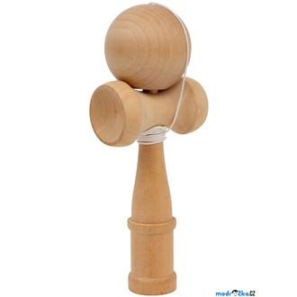 Dřevěné hračky - Motorická hra - Kendama přírodní (Legler)