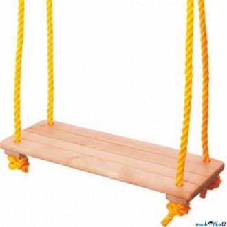 Na ven a sport - Houpačka - Jednoduchá dřevěná přírodní (Woody)
