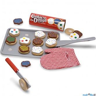 Dřevěné hračky - Krájení - Pečení sušenek, dřevěná sada (M&D)