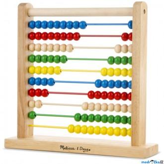 Dřevěné hračky - Počítadlo - Velké dřevěné, 30cm (M&D)