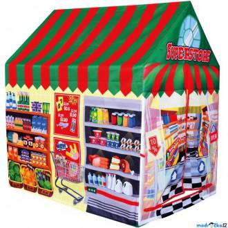 Ostatní hračky - Dětský domeček - Stan prodejna (Bino)