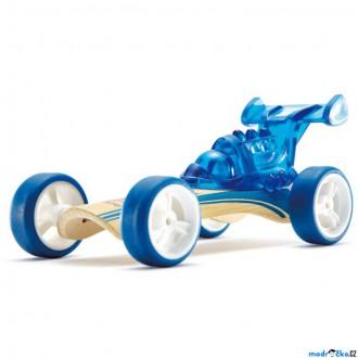 JIŽ SE NEPRODÁVÁ - Auto - Autíčko mini Dragster modré (Hape)