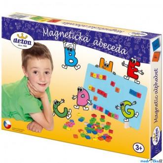 Puzzle a hlavolamy - Puzzle magnetické - Abeceda magnetická (Detoa)