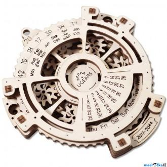 Stavebnice - 3D mechanický model - Kalendář (Ugears)