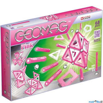 Stavebnice - Geomag - Kids Pink Panels Girls, 68 ks