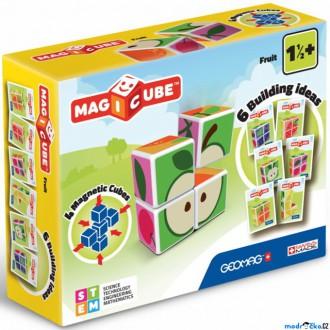 Stavebnice - Geomag - Magicube, Ovoce 4 kostky