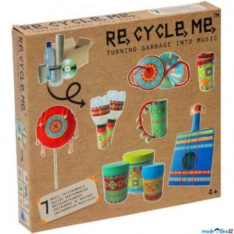 Dřevěné hračky - Kreativní sada - Re-cycle-me, Music