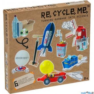 Dřevěné hračky - Kreativní sada - Re-cycle-me, Science