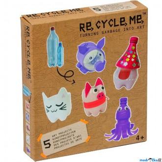 Dřevěné hračky - Kreativní sada - Re-cycle-me, Pro holky, PET lahev