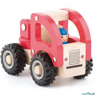 Dřevěné hračky - Auto - Hasiči dřevěné autíčko (Woody)