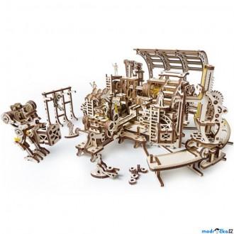 Stavebnice - 3D mechanický model - Továrna robotů (Ugears)