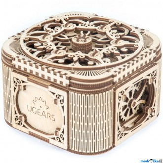 Stavebnice - 3D mechanický model - Šperkovnice (Ugears)