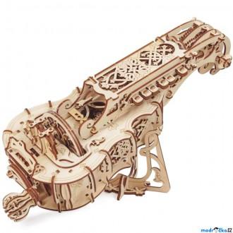 Stavebnice - 3D mechanický model - Hurdy-Gurdy, Niněra (Ugears)