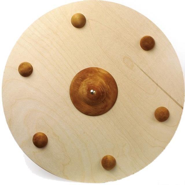 Dřevěné hračky - Dětská zbraň - Štít Vikingský dřevěný (Legler) 20eaf923af