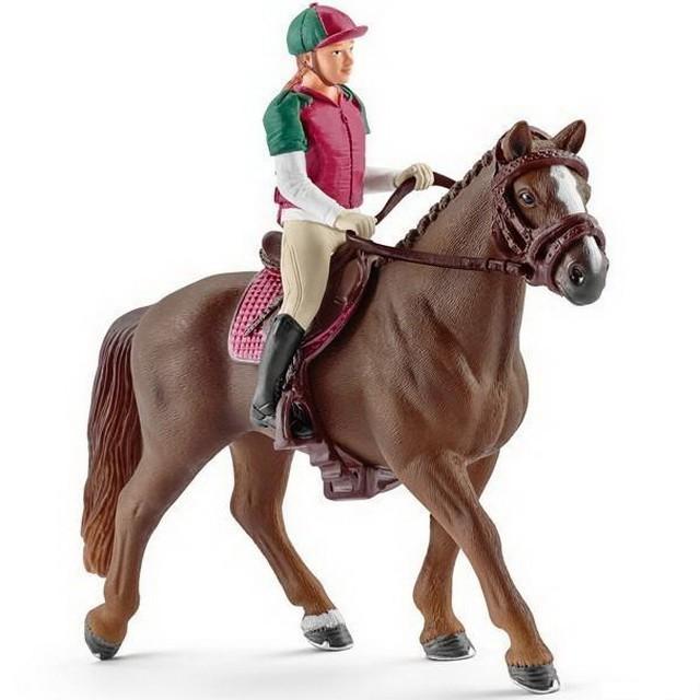 Schleich Kun S Jezdcem Jezdec Vsestranne Zpusobilosti Schleich